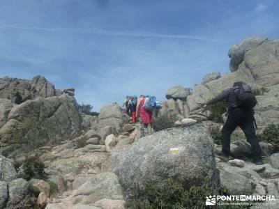 Maliciosa - Sierra de los Porrones [Serie Clásica] senderismo por segovia ruta a pie por madrid